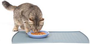 best cat food mats